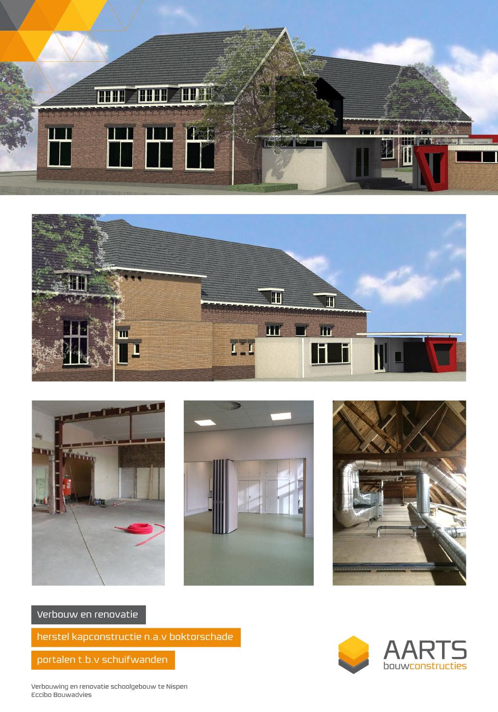 Basisschool Nispen - Verbouwing en Revitalisering