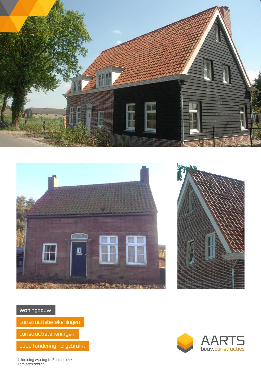 Uitbreiding woning te Prinsenbeek