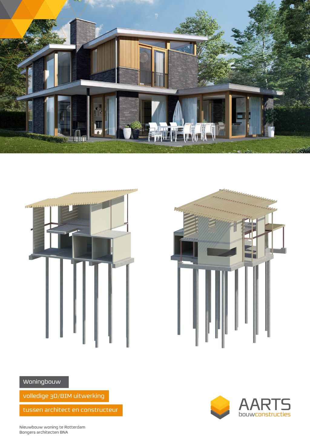 Woning - Close-up 3D model